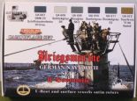 LC-CS12 German WWII Kriegsmarine Set 2 (22ml x 6)